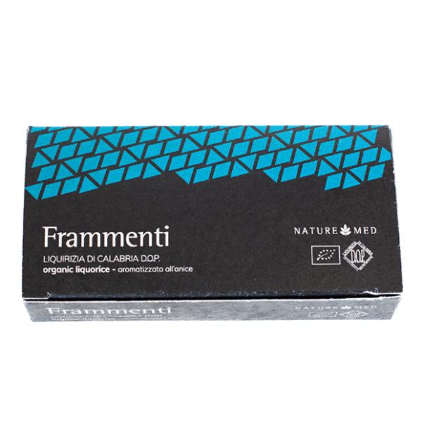 Frammenti di liquirizia aromatizzata all'anice, Naturemed, 100gr.