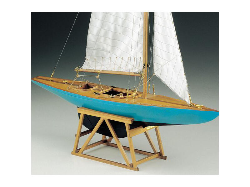 Scatola di Montaggio in Legno Monotipo classe internazionale 5.5 di Corel - Offerta di Mondo Nautica 24