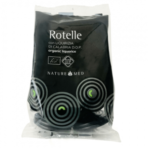 Rotelle di liquirizia, Naturemed, 80gr