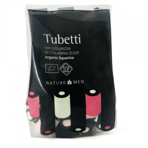 Tubetti di liquirizia, Naturemed, 80 gr