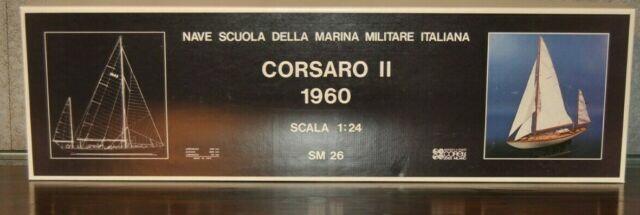 Scatola di Montaggio in Legno Corsaro II di Corel - Offerta di Mondo Nautica 24