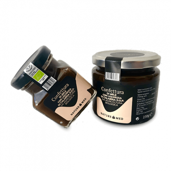 Confettura mele e liquirizia, Naturemed, 230gr