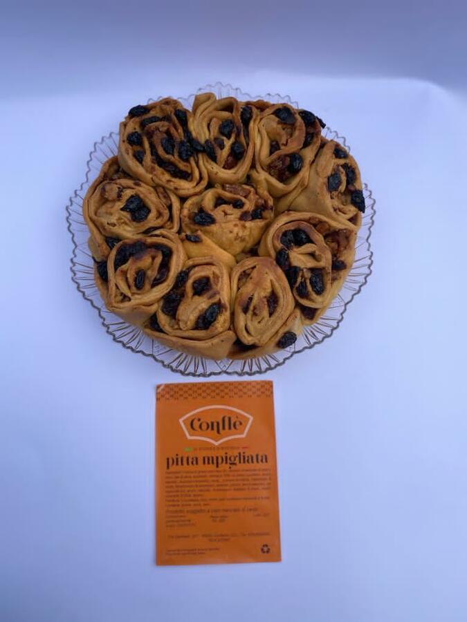 Pitta 'mpigliata,  Conflé, 500 gr