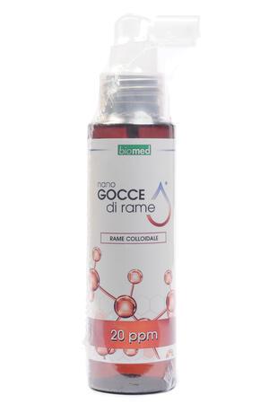 RAME COLLOIDALE - Flacone spray da 100 ml