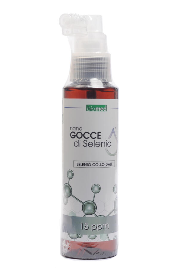 SELENIO COLLOIDALE - Flacone spray da 100 ml