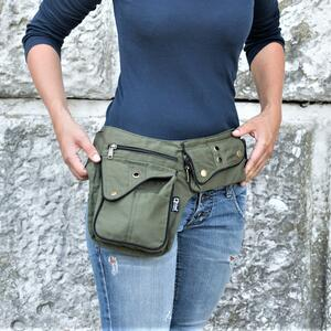 "Hip Bag  ""ROME"" green"