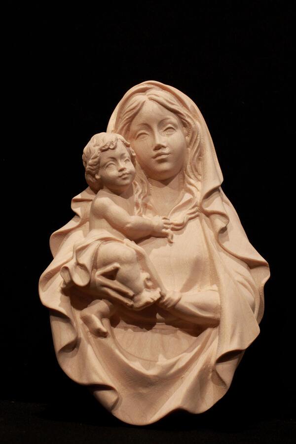 Madonna con bambino da parete 20cm