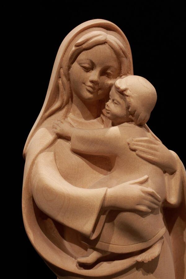 Madonna con bambino 31cm