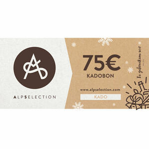 CARTA REGALO ALPSELECTION da 75 euro