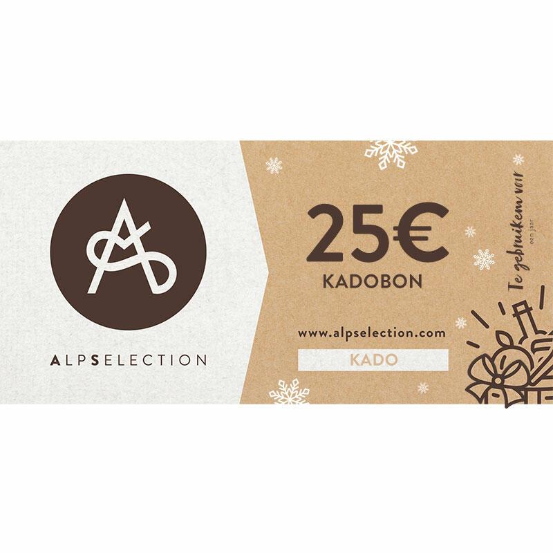 ALPSELECTION KADOBON van 25 euro