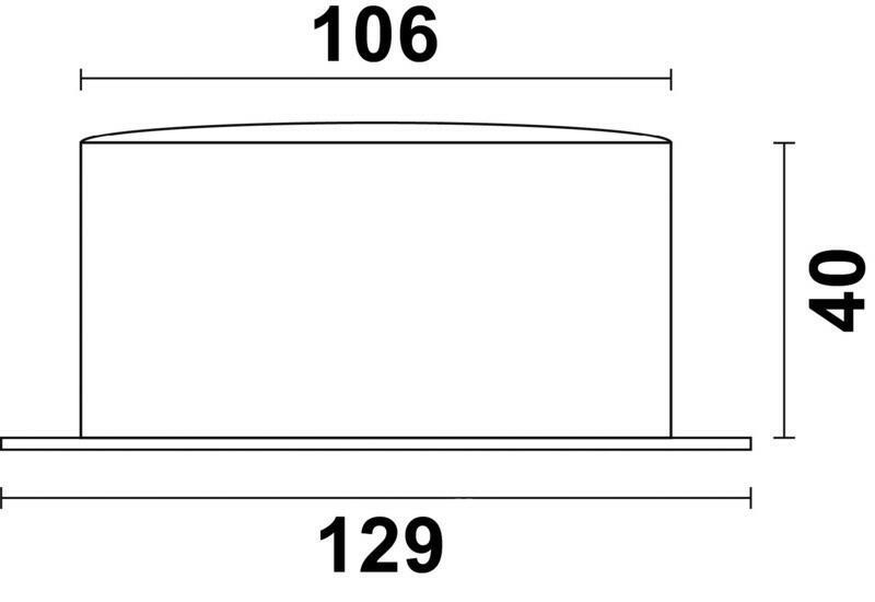 Barometro Vion A 100 LD acciaio inox lucidato a specchio