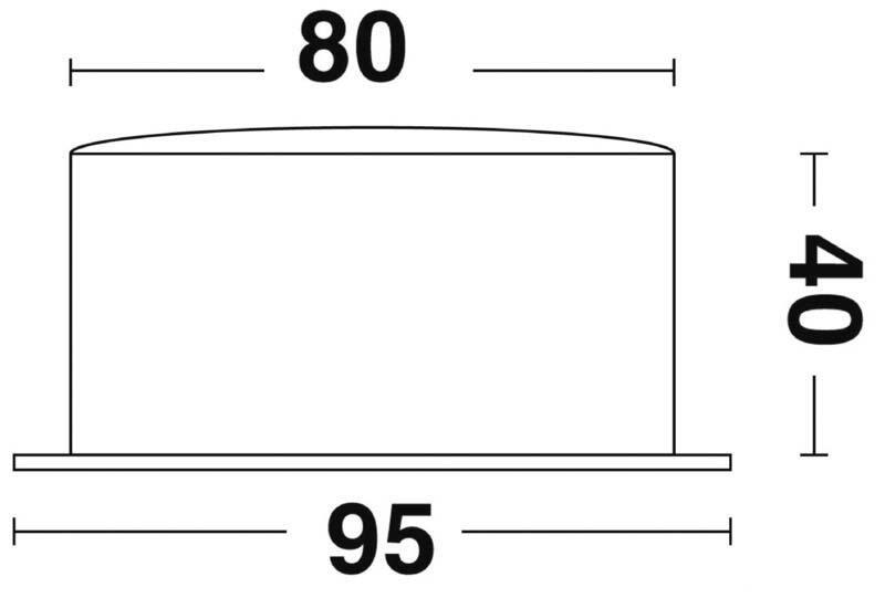 Orologio Vion A 80 MIC CHR acciaio inox lucidato a specchio