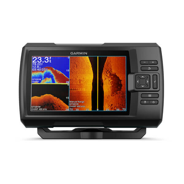 Ecoscandaglio Garmin STRIKER Vivid 7 cv con Trasduttore GT20-TM e GPS integrato - Offerta di Mondo Nautica  24