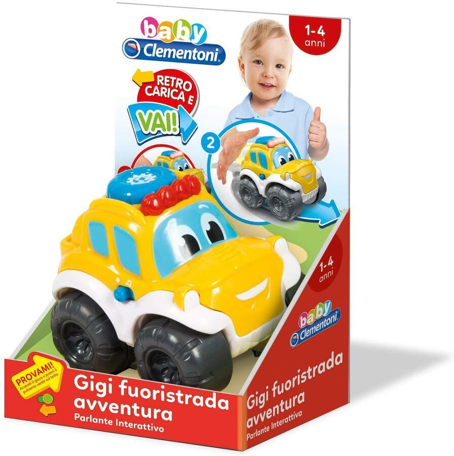 GIGI FUORISTRADA AVVENTURA CLEMENTONI
