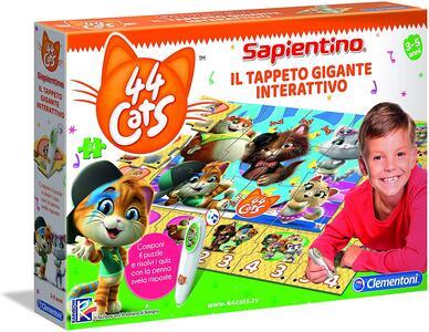TAPPETO INTERATTIVO 44 GATTI SAPIENTINO CLEMENTONI