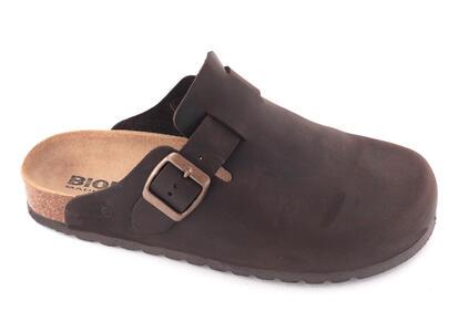 Bioline - Pantofola 1900 - Ingrassato Testa di Moro