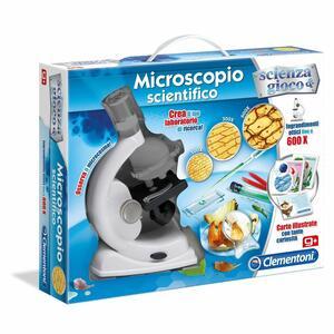 MICROSCOPIO SCIENTIFICO SCIENZA & GIOCO CLEMENTONI