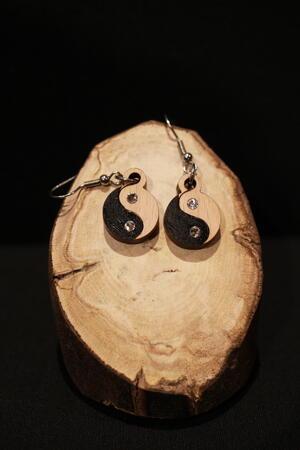 Orecchini Yin Yang