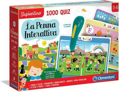 PENNA INTERATTIVA 1000 QUIZ SAPIENTINO CLEMENTONI