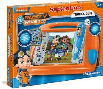 SAPIENTINO TRAVEL QUIZ RUSTY RIVETS CLEMENTONI