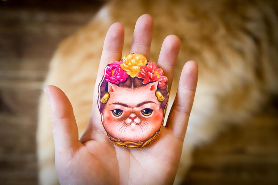 Spilla Frida Kahlo