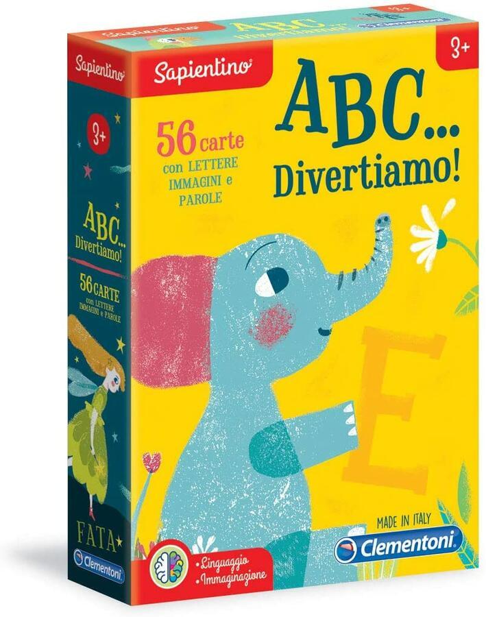 SAPIENTINO A B C... DIVERTIAMO CLEMENTONI
