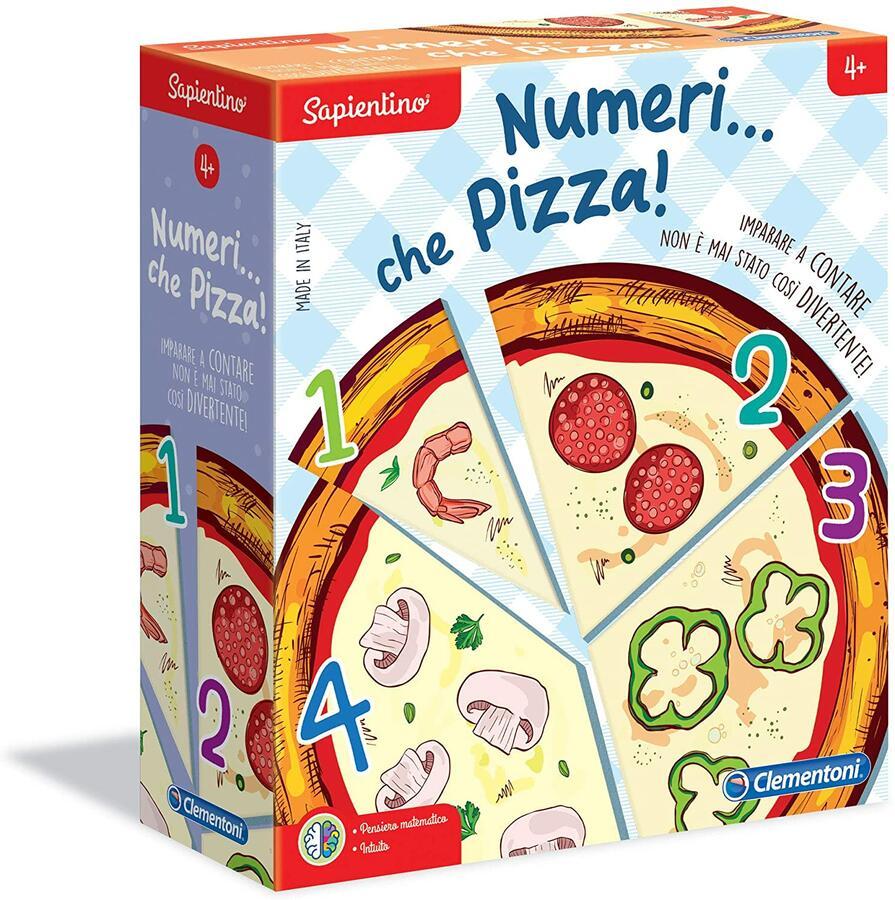 SAPIENTINO NUMERI CHE PIZZA CLEMENTONI
