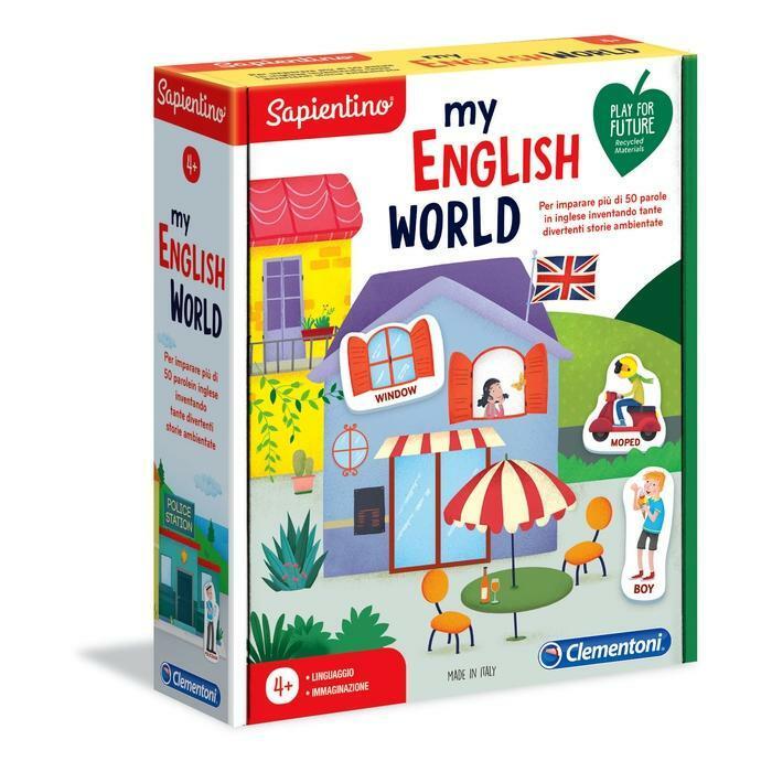 SAPIENTINO MY ENGLISH WORLD CLEMENTONI