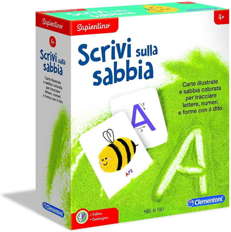 SAPIENTINO SCRIVI SULLA SABBIA CLEMENTONI