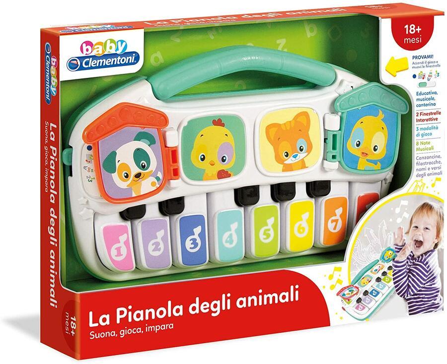 PIANOLA DEGLI ANIMALI CLEMENTONI