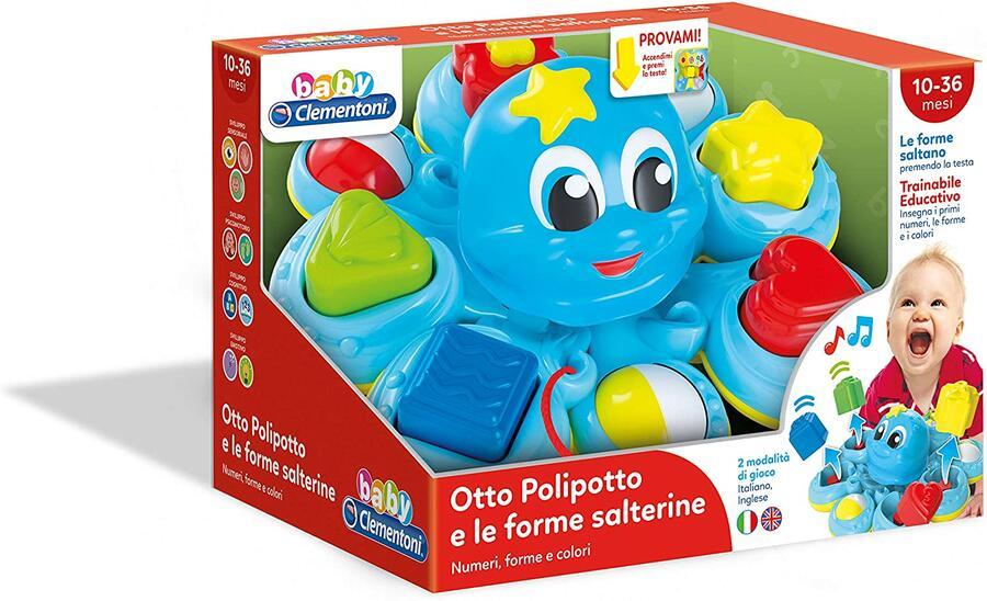 OTTO POLIPOTTO FORME SALTERINE CLEMENTONI