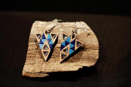 Orecchini triangoli