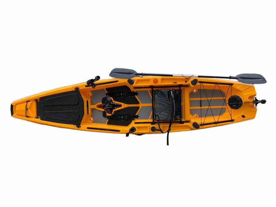 SKF PEDAL K11 - Kayak da pesca a pedali - 360 cm - completo accessori