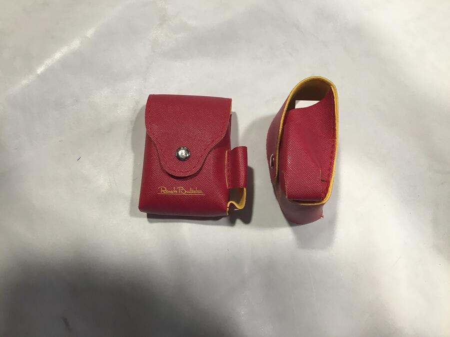 Porta Sigarette Balestra Rosso