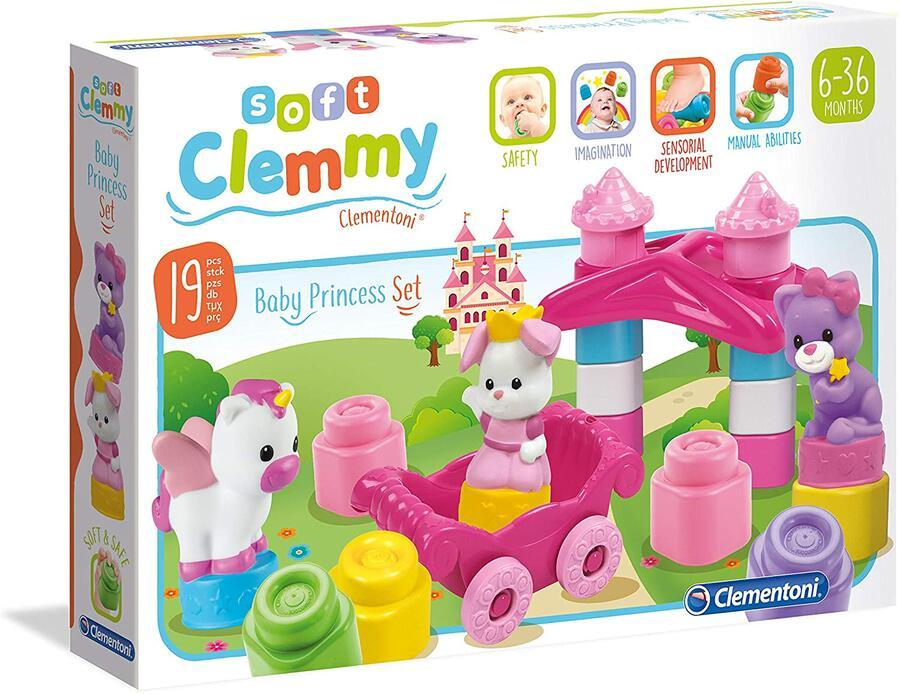 CLEMMY SET BABY PRINCIPESSA CLEMENTONI