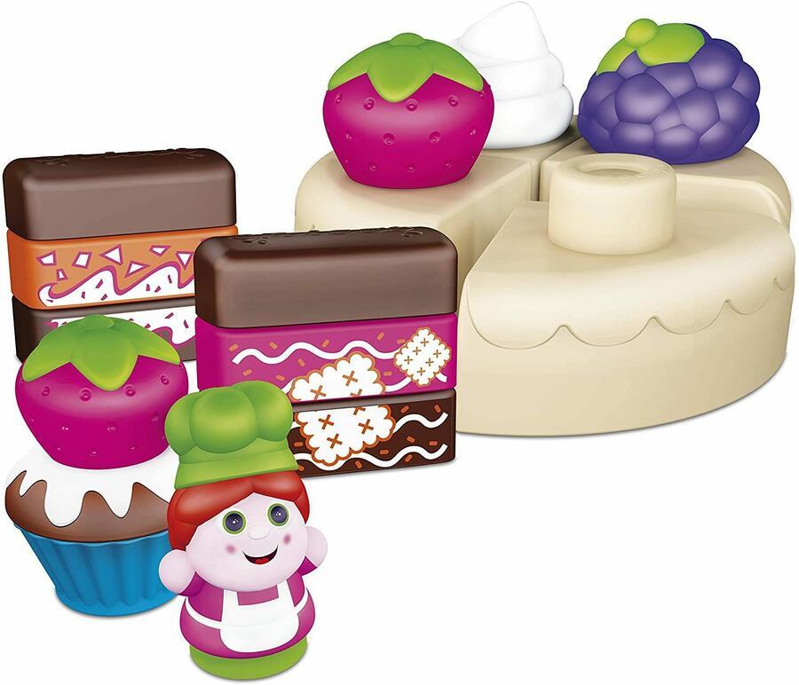 Cake Design Costruzioni 30 pz - Chicco 06814 - 12 + mesi