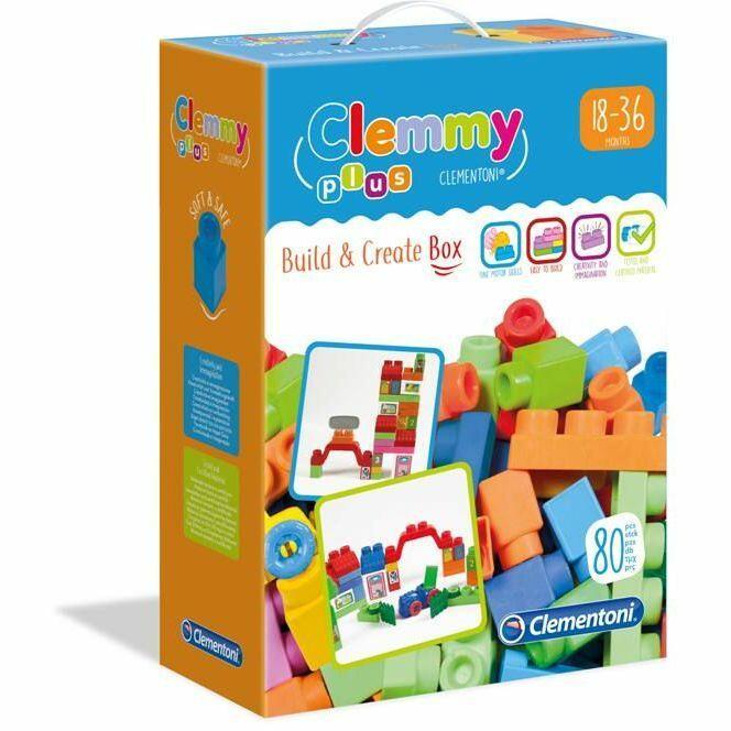 CLEMMY BUILD & CREATE CLEMENTONI