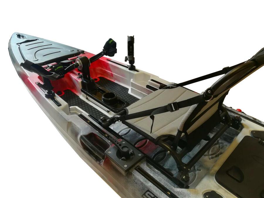 SKF Pedal Power 13 - Kayak da pesca a pedali - 413 cm - completo accessori