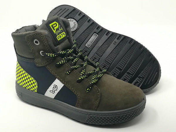 Sneaker Scam/Pelle Lacci/Cerniera - PRIMIGI