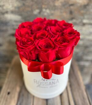 FLOWER BOX T12 Rossana Collection ROSSO