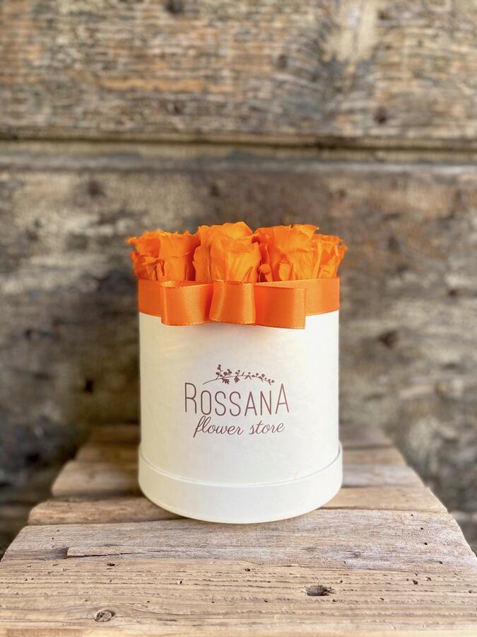 FLOWER BOX T12 Rossana Collection arancio