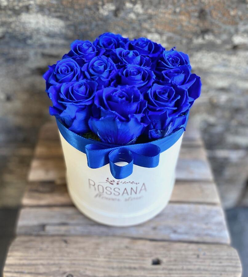 FLOWER BOX T12 Rossana Collection Blu
