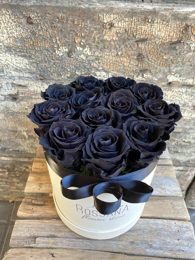 FLOWER BOX T12 Rossana Collection Nero
