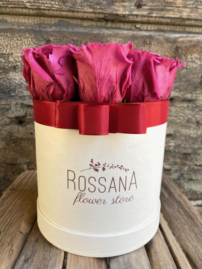 FLOWER BOX T12 Rossana Collection Cranberry