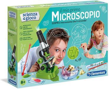 IL MIO PRIMO MICROSCOPIO SCIENZA & GIOCO CLEMENTONI