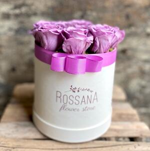 FLOWER BOX T12 Rossana Collection Lilla