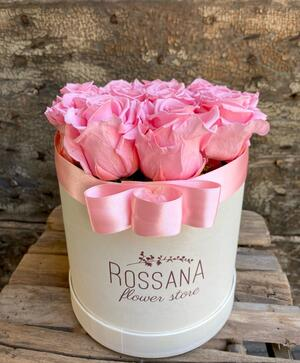 FLOWER BOX T12 Rossana Collection Rosa