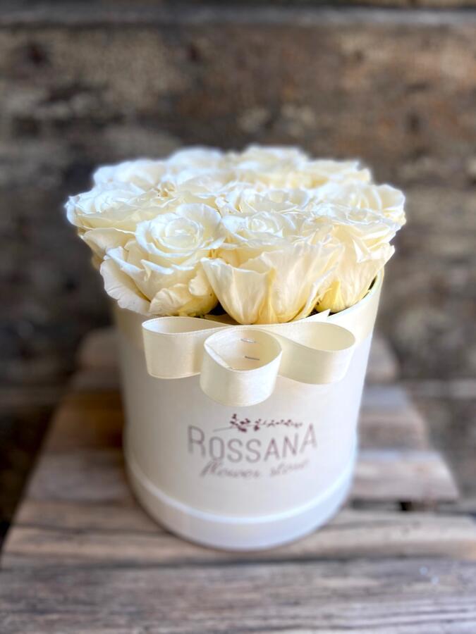 FLOWER BOX T12 Rossana Collection Avorio