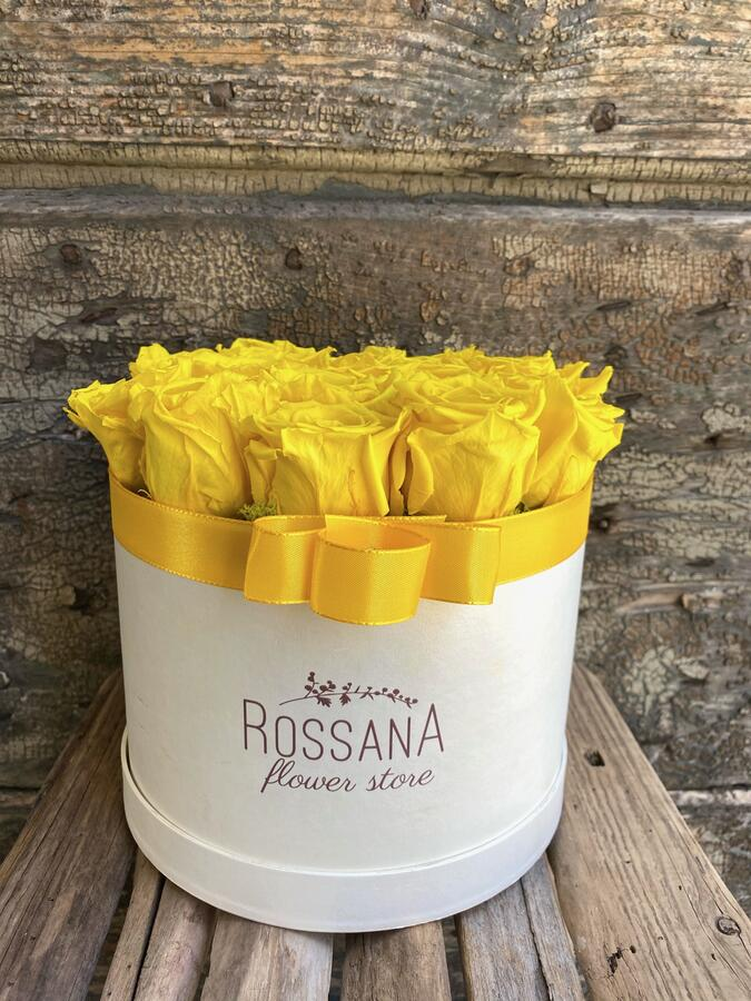 FLOWER BOX T18 Rossana Collection GIALLO
