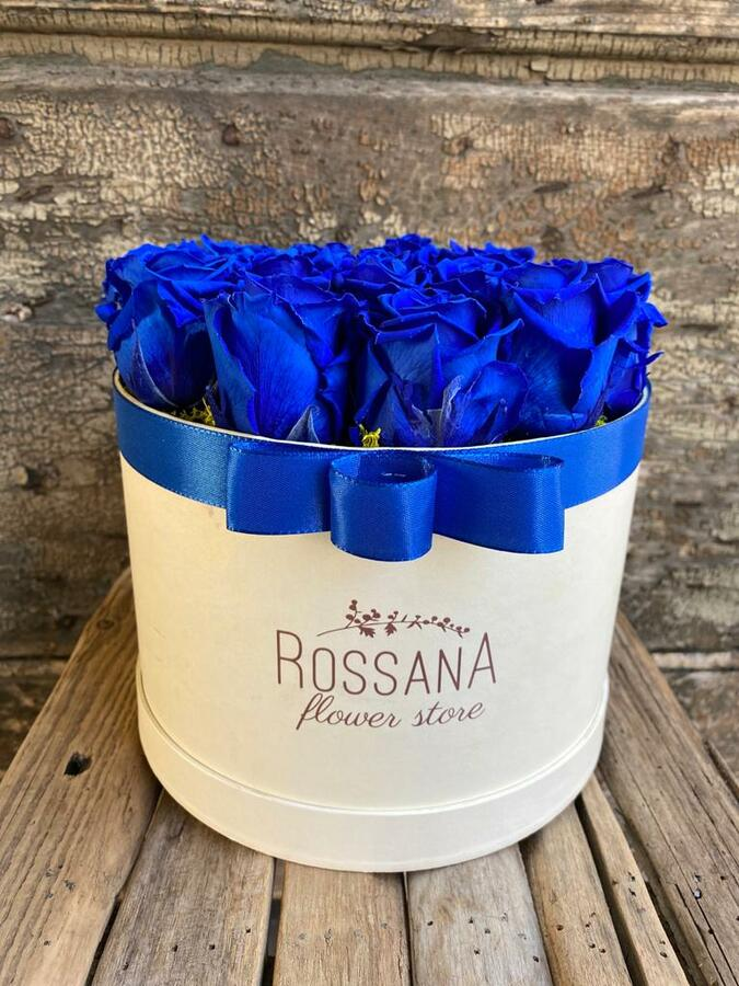 FLOWER BOX T18 Rossana Collection BLU
